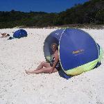 fine silica beach at Whitehaven