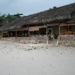 restaurant from beach