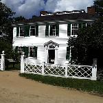 The Salem Towne House Sits at the head of the Common and is the Grandest in the Village