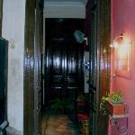 Hotel Paris - Hoteleingang 3. Etage
