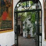 Entrance hall at El Pimpi