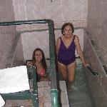 Hot springs bathroom