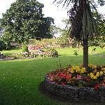 Tymparon Hall garden