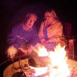 Sharing Experiences around the Firepit