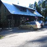 Genral Store and Cafe, just steps from your cabin