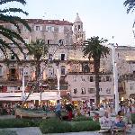 Split harbour front