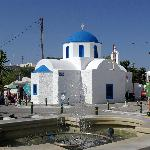 church in the square, Chora