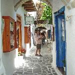 street in old town, Chora