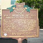 Taft Museum Sign
