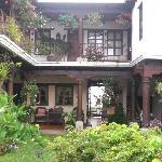 Casa Madeleine-View from Garden