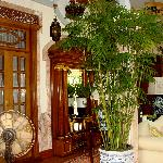 The Botticelli Suites lobby of the babylon Bed & Breakfast