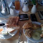La prima colazione - incredibile!