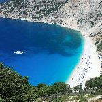 Myrtos Bay, Kefalonia, Greece