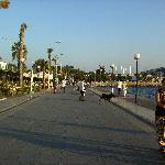 Cesme seafront