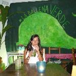 Rico Mojito en La Ballena Verde