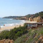 Maria Luisa Beach - restaurant on the beach does lovely fresh grilled sardines and swordfish