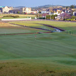 #18 at Carnoustie as seen from the Ben Hogan suite