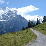 Grutschalp to Murren footpath