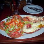 Deliciosa langosta en The Reef - Bocas del Toro