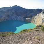 le volcan Kelimutu