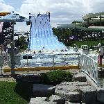 The water park inside the park