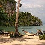 vue de plage koh yao