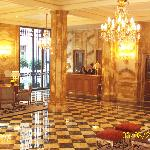 Lobby of Hotel de Crillon
