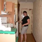 A picture of the Kitchen