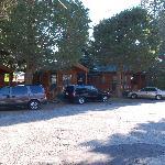 The smaller KOA-style cabins