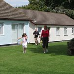 Bungalows at Gower Holiday Village