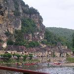 Boat rip on Dordogne river