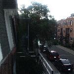 View from front door (on first floor up)