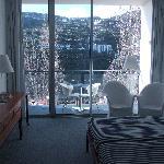 Notre chambre, côté montagne