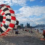Parasailing at Nha Trang Beach