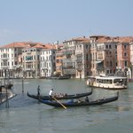Venice is a short boatride away