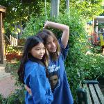 Girls on the farm