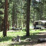 Camp spot #21 - The BEST spot!
