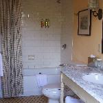 The beautiful bathroom in room #9