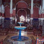 Moroccan House entrance hall