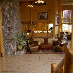 Beautiful and cozy lobby. Great for relaxing and reading a book