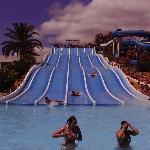 One of the many slides at Slide & Splash waterpark