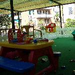 The childrens playground