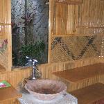 wash area