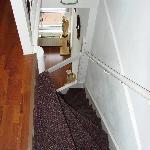 apt V - scala interna tra salotto e camera da letto