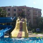 The water slides at Green Park