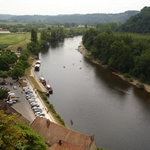 View of the Dordogne River from Roche Gagneac