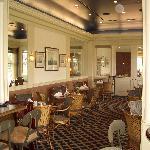 The bar area at the Inn