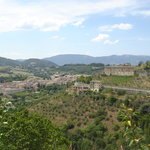 View of Spoleto from Aqueduct
