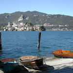the island from Orta