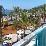 Vista desde el balcón 1